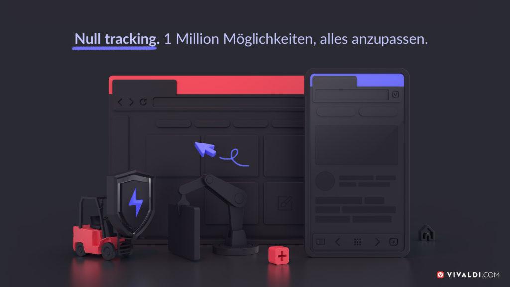 Dunkels Bild mit Vivaldi Desktop und Mobile